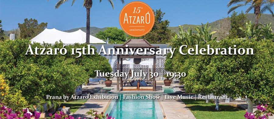 Atzaró Ibiza celebra sus 15 años con un espectacular desfile de moda