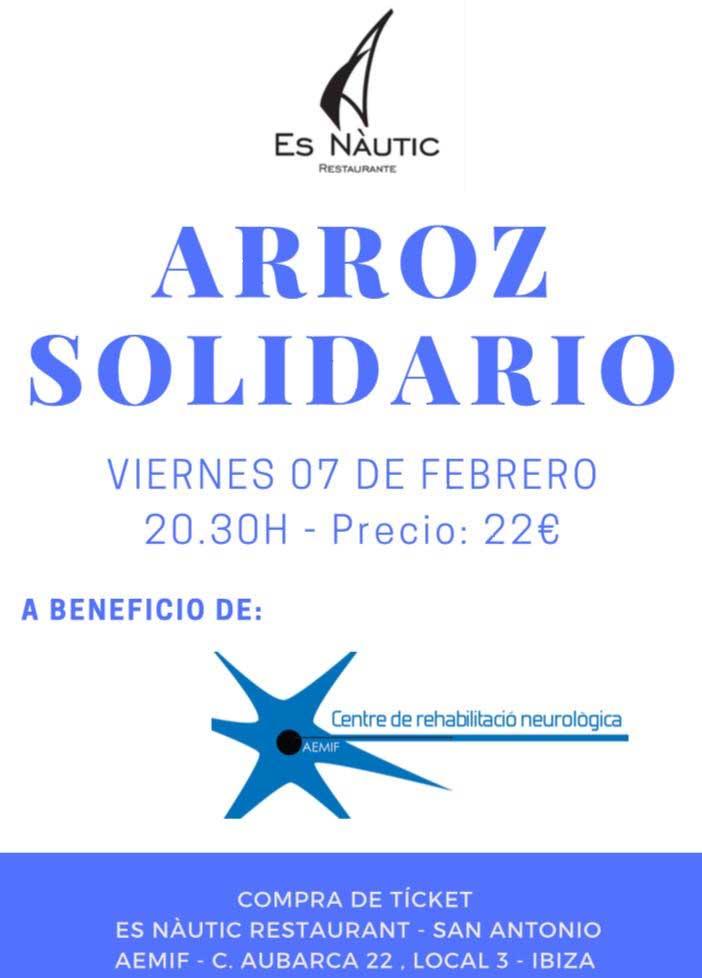 Arròs solidari a favor de AEMIF a Es Nàutic