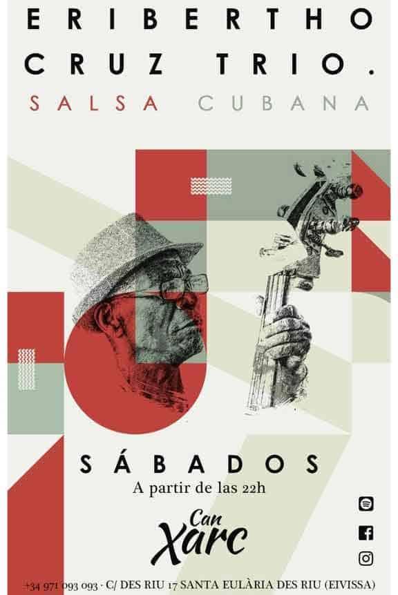 Noches de salsa en el restaurante Can Xarc con Eri Salsa Trío