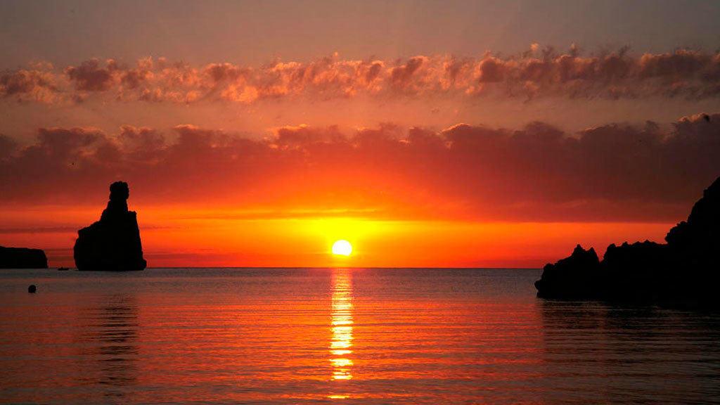 Benirras-zonsondergang
