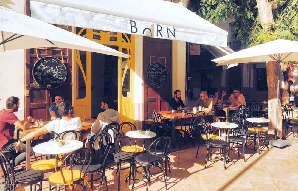 Born restaurant cafeteria Eivissa 00