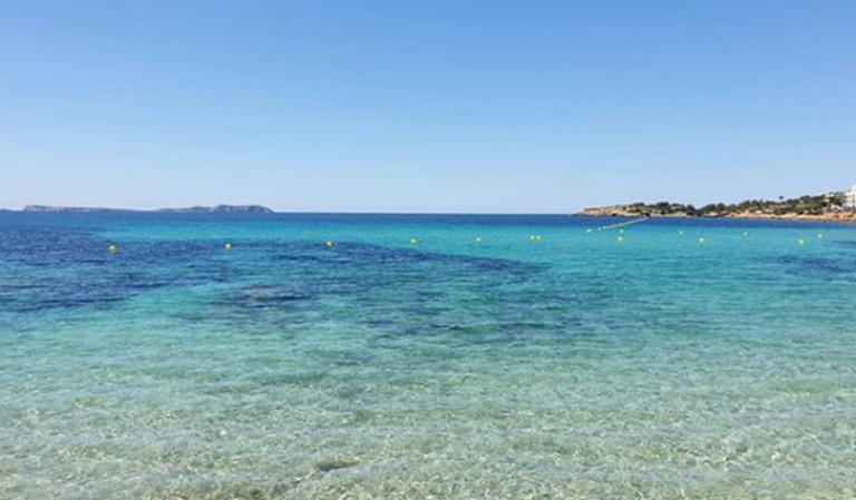 Кал-де-Moro открытого-пляжи-Ибица-карантинные
