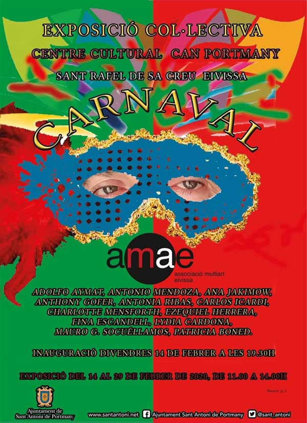 «Carnaval». Exposition collective AMAE Ibiza