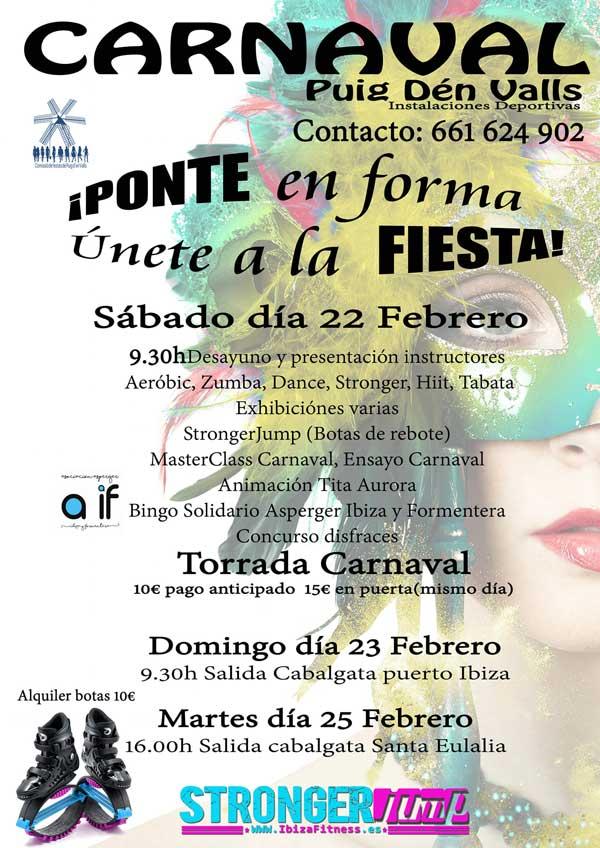 Карнавальная вечеринка в Puig d'en Valls