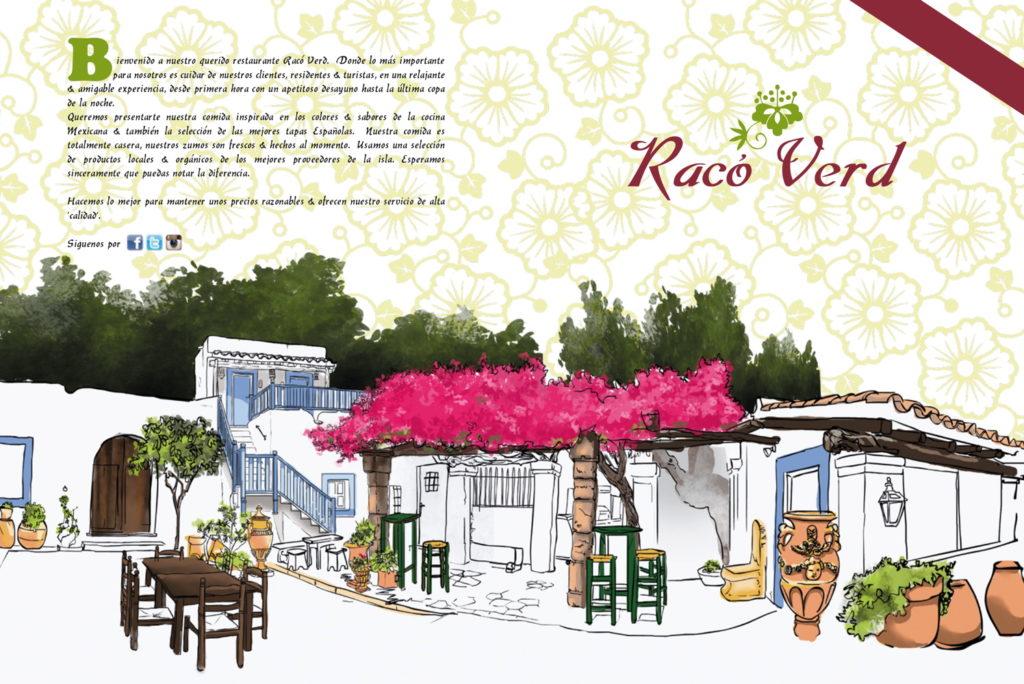 Carte Raco Verd Ibiza