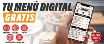 Ibiza restaurants digital menu