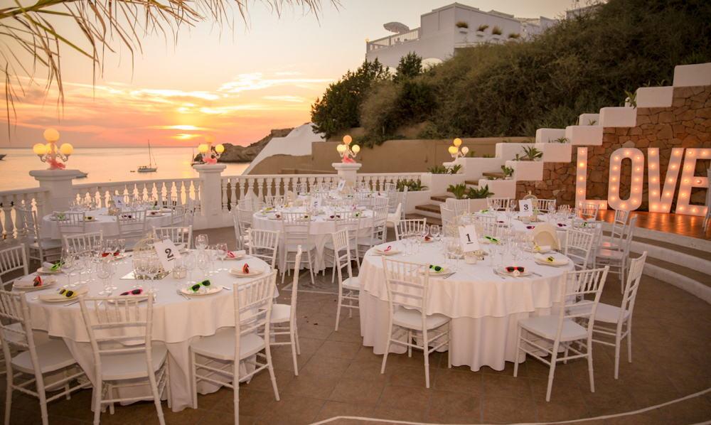 Cas Mila banquets Ibiza
