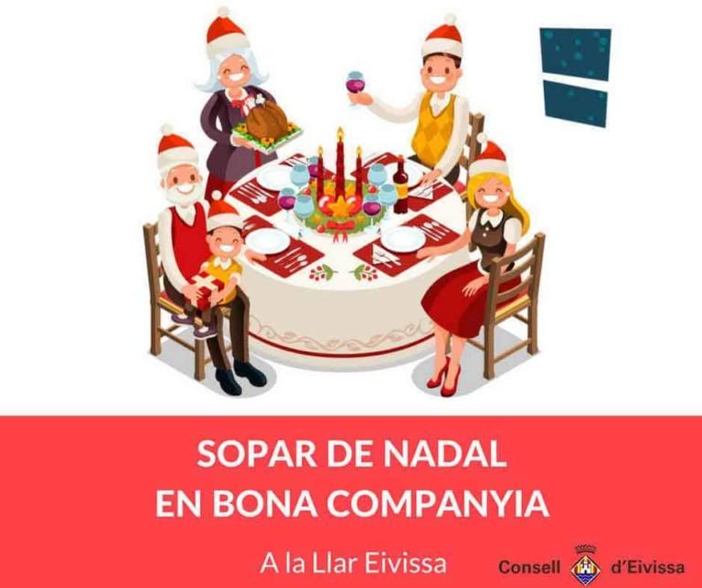 Ужины солидарности на Ибице на Рождество в компании