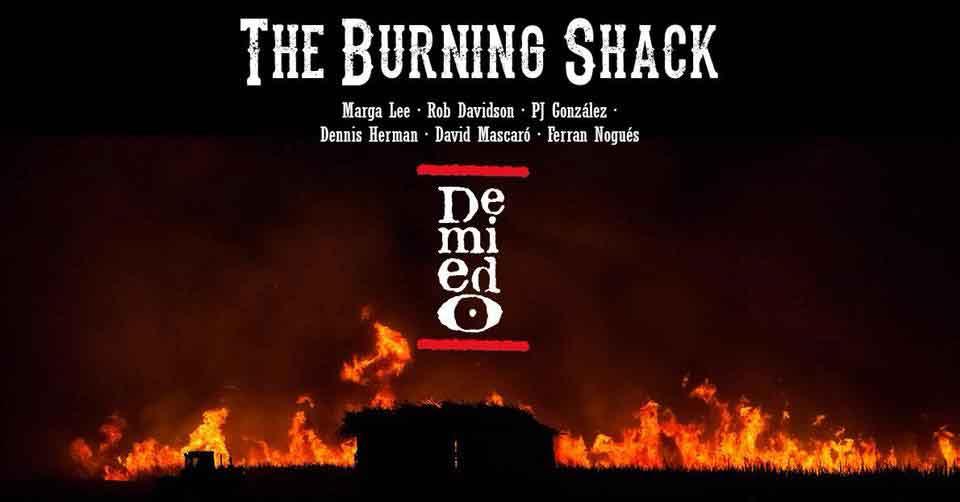 The Burning Shack en concert à Demiedo Ibiza