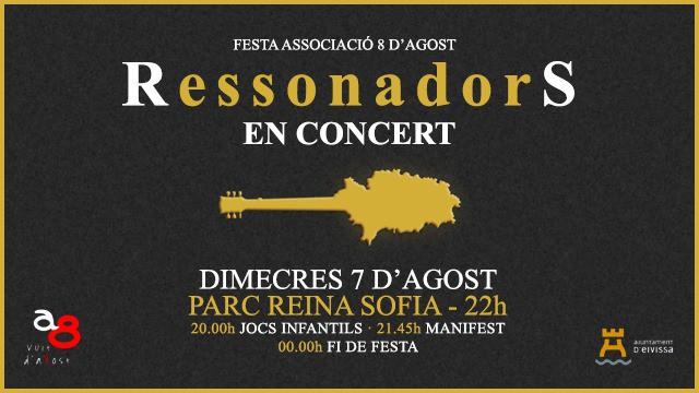 Ressonadors Konzert im Reina Sofía Park