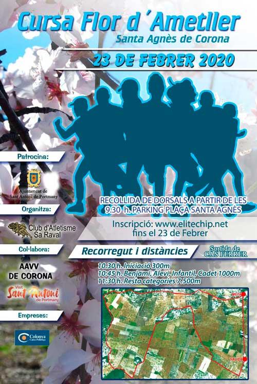 Зарегистрируйтесь в это воскресенье в Cursa Flor d'Ametller в Санта-Инес!