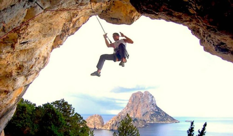Escalar en Ibiza