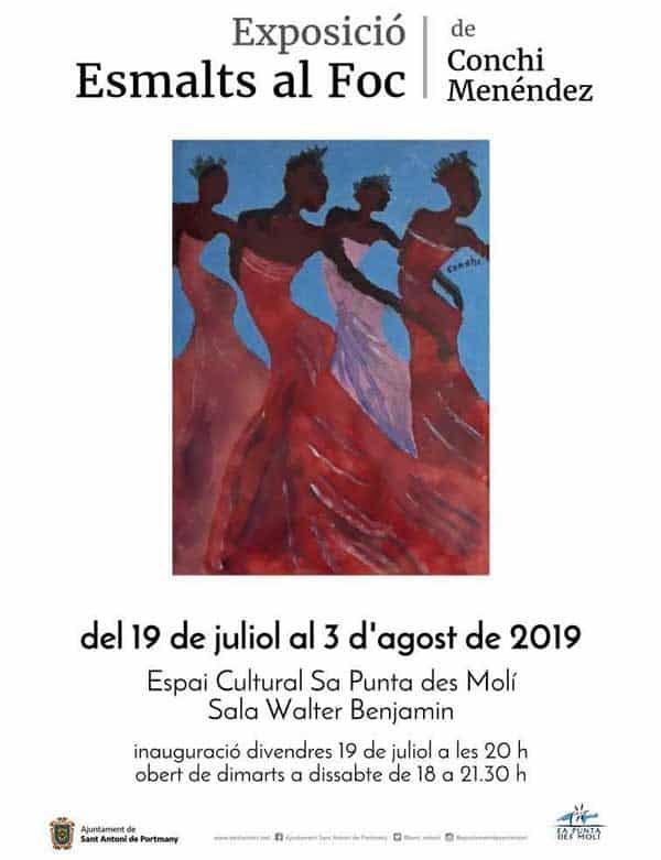 The work of Conchi Menéndez in Sa Punta des Molí