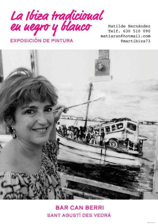 'L'Eivissa tradicional en negre i blanc' a Can Berri
