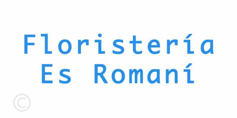 Floristeria Es Romaní
