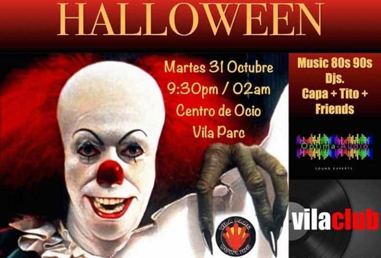 Хэллоуин в Vila Parc Ibiza: музыка 80-х и 90-х годов