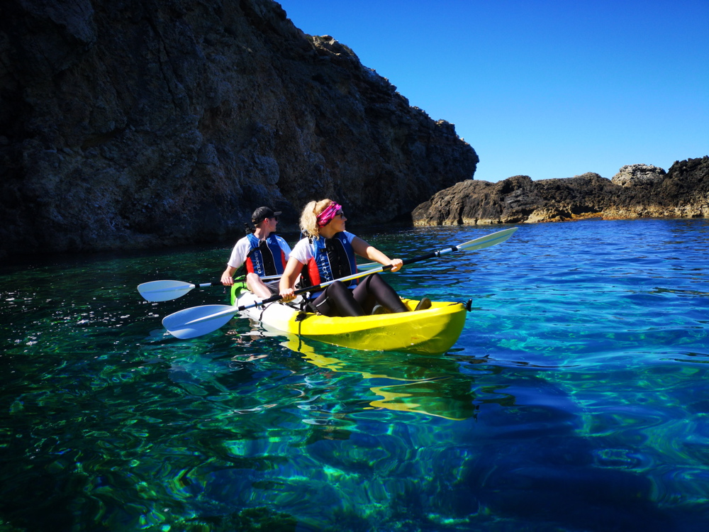 Kayak en Ibiza Actividades deportivas