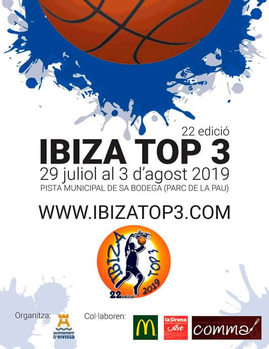 The Ibiza Top 3 Basket Tournament is back!