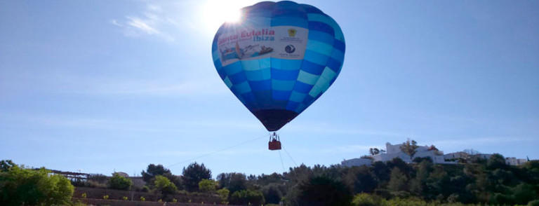 Ibiza dall'aria
