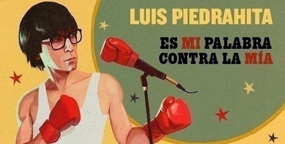 Луис Пьедрахита представляет на Ибице «Это мое слово против моего»