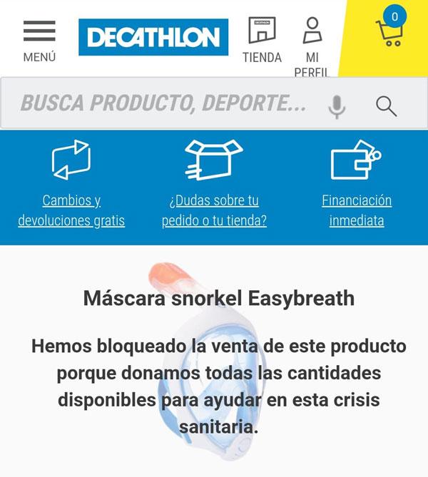 Ibiza НЕ нуждается в маске для снорклинга Decathlon