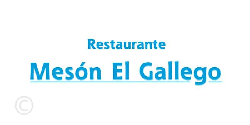 Restaurantes Mesón El Gallego-Ibiza