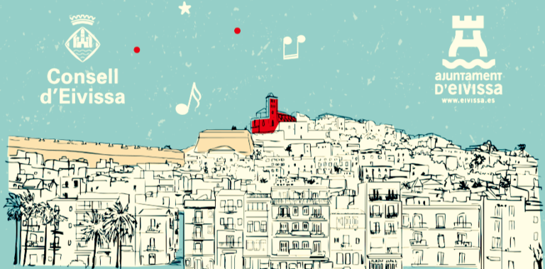 Рождество затопляет окрестности La Marina de Ibiza!