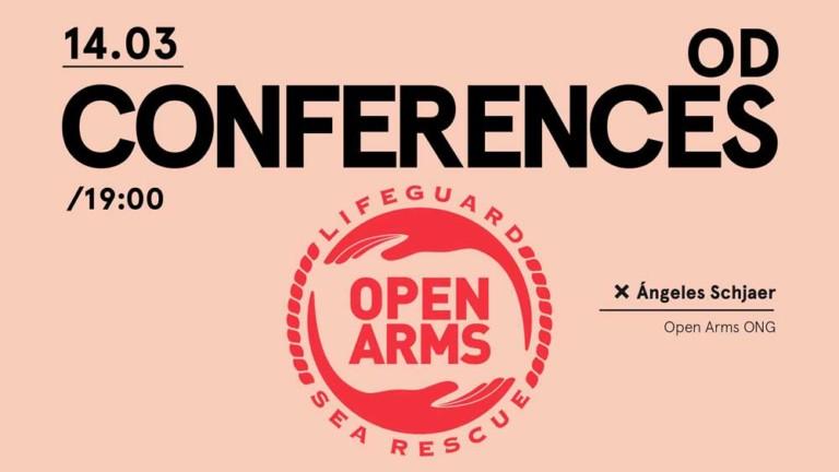 Open Arms a la OD Conferences d'Ocean Drive Eivissa
