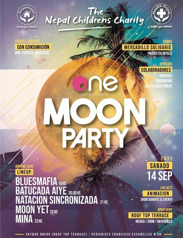 Divertida y solidaria Moon Party en One Ibiza Suites