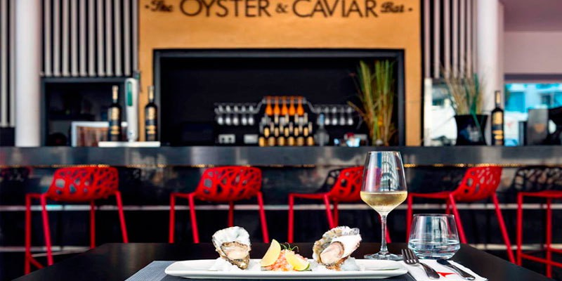 Oyster-and-caviar-Ushuaia-Tower-Ibiza