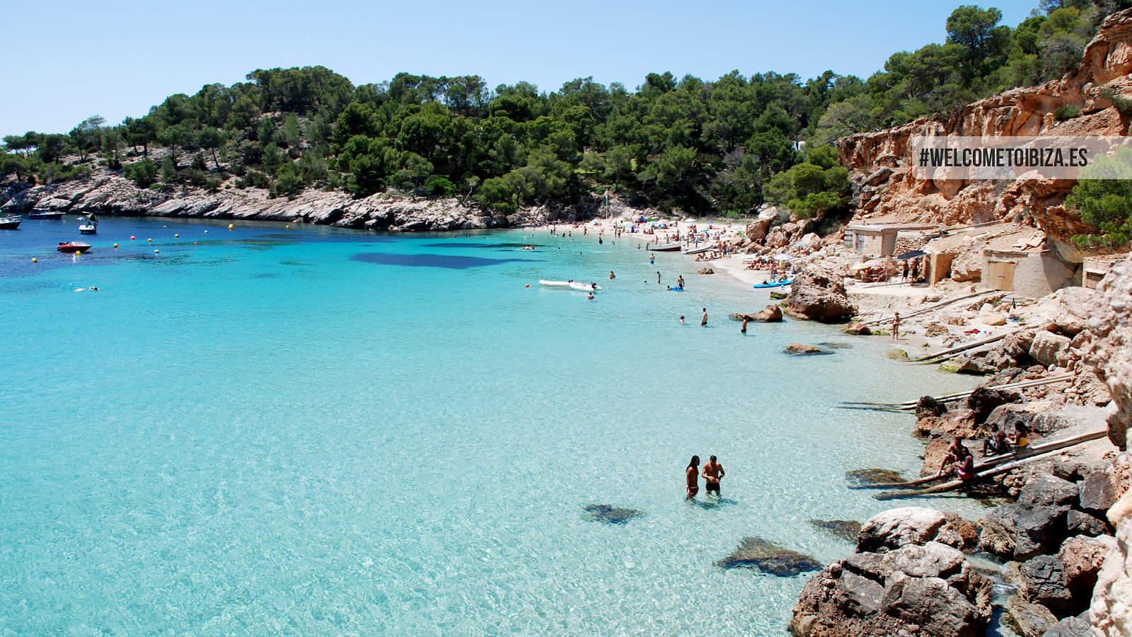 Playa Cala Salada Strand San Antonio Ibiza 2015-9