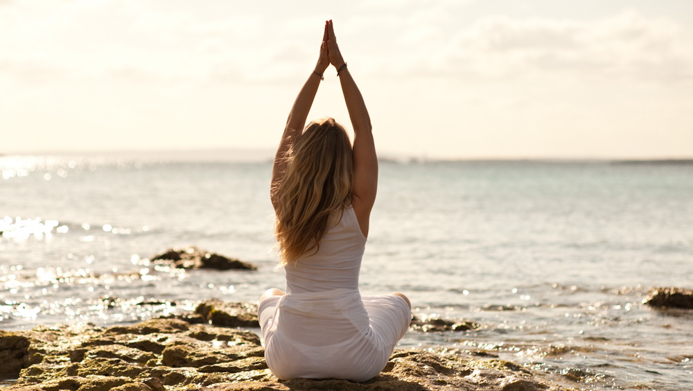 Yoga auf Ibiza