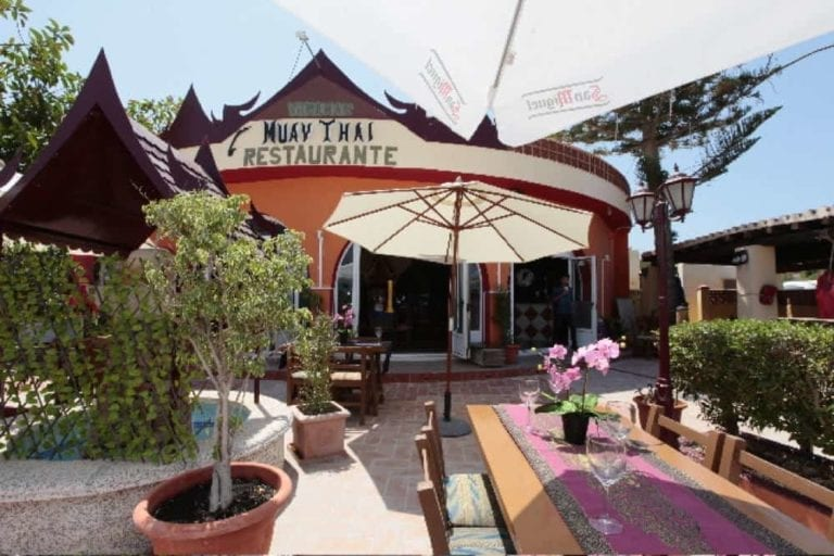 Restaurants>  Menü des Tages-Muay Thai-Ibiza