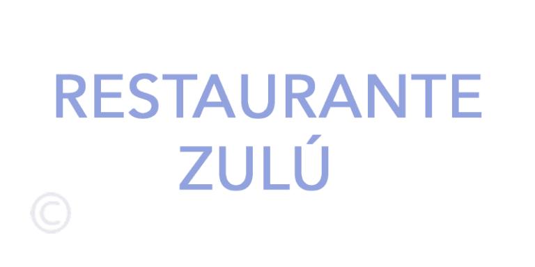 -Зулу Ресторан (Эс Гроп) -Ибица
