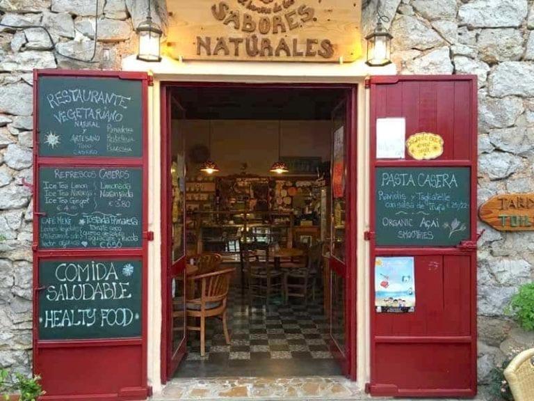 Restaurantes-Sabores Naturales-Ibiza