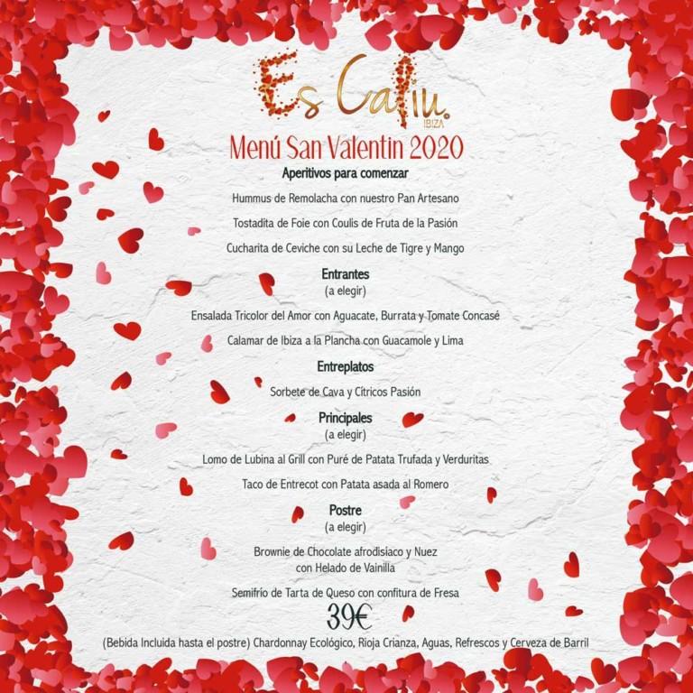 Es Caliu ждет вас для идеального ужина на Валентина на Ибице
