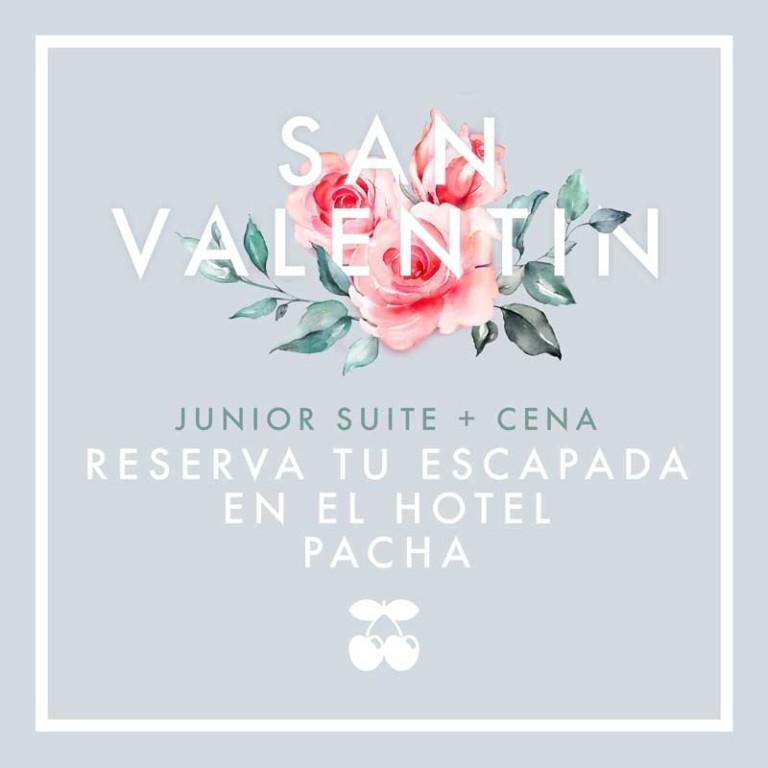 Ужин и просыпайтесь в отеле Pacha Ibiza на День святого Валентина