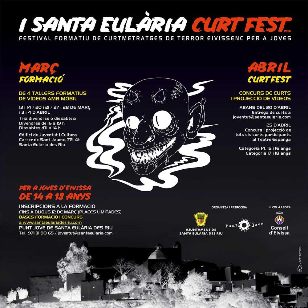 CANCEL·LAT: I Santa Eulària Curt Fest: Aprèn a fer la teva curt i guanya interessants premis