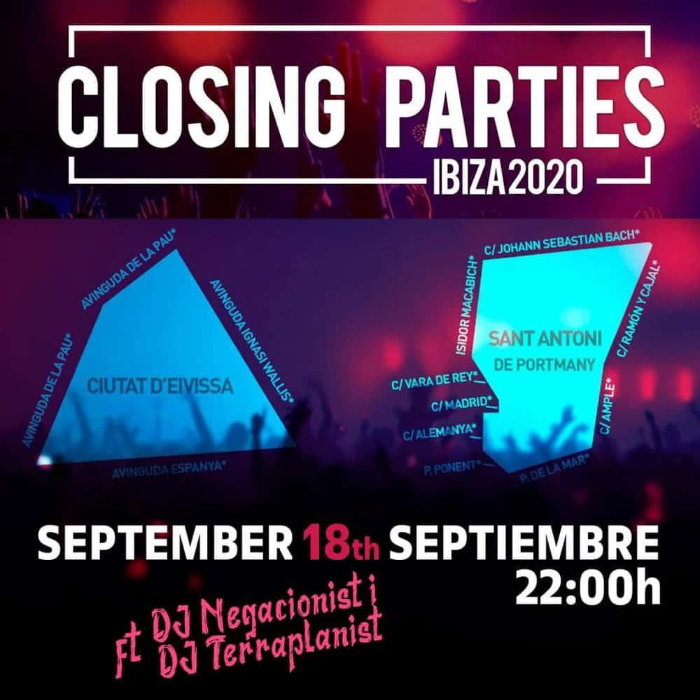Semiconfinamiento Ibiza San Antonio coronavirus 2020 00