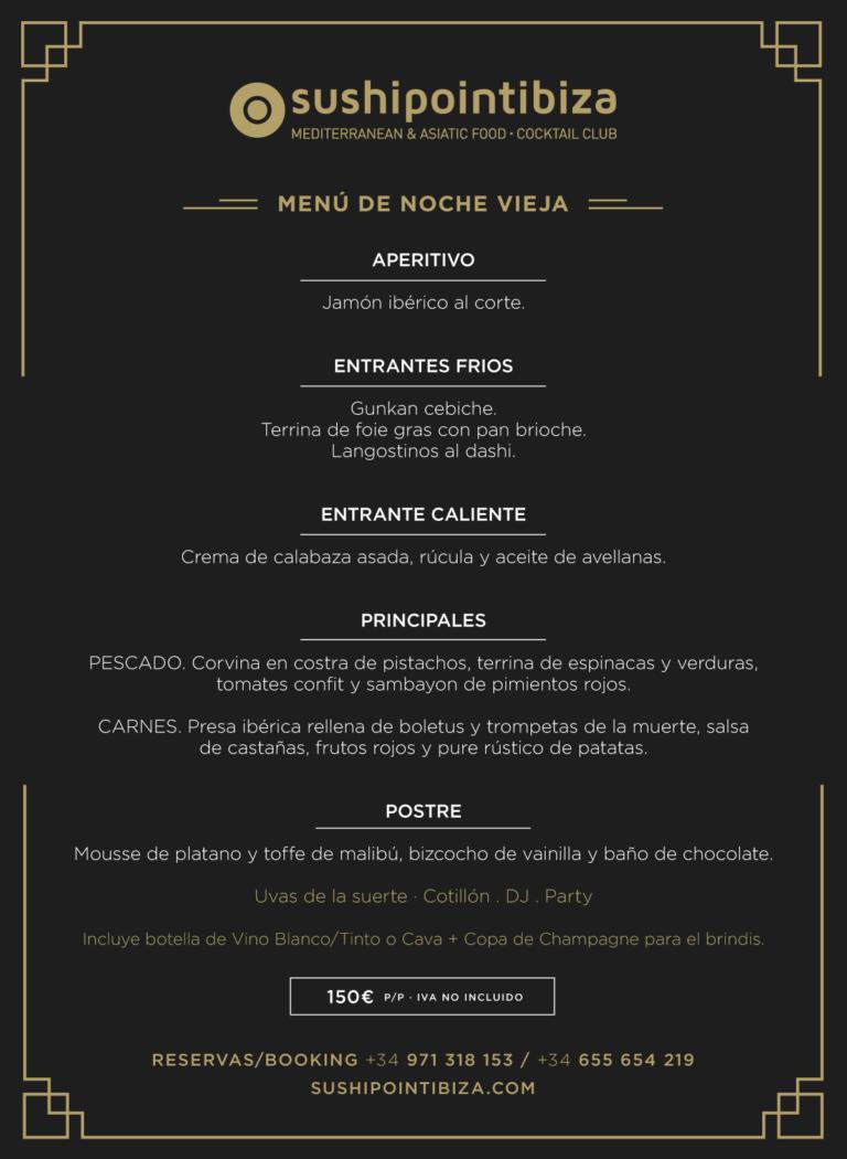 Сочельник и Новый год на Ибице: ресторан SushiPoint Ibiza