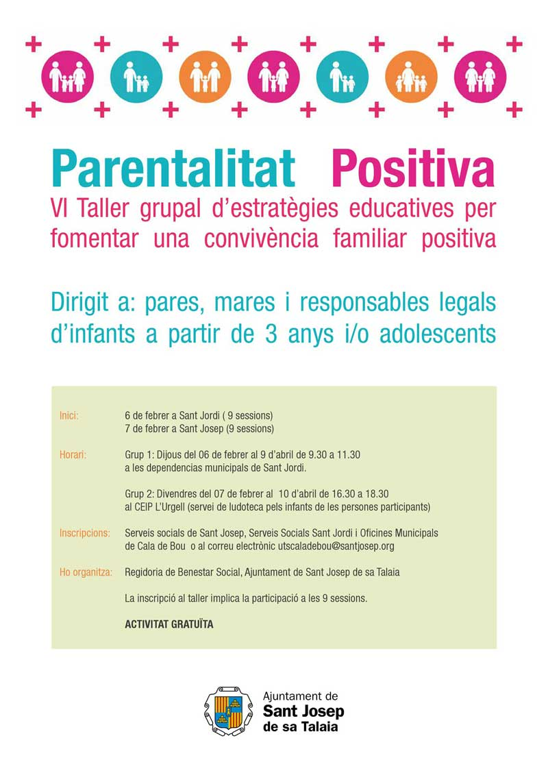 VI Workshop of Positive Parentality in San José