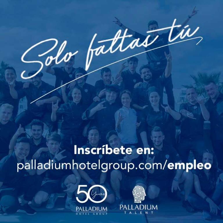 Palladium Hotel Group ищет рабочих, чтобы занять различные должности на Ибице