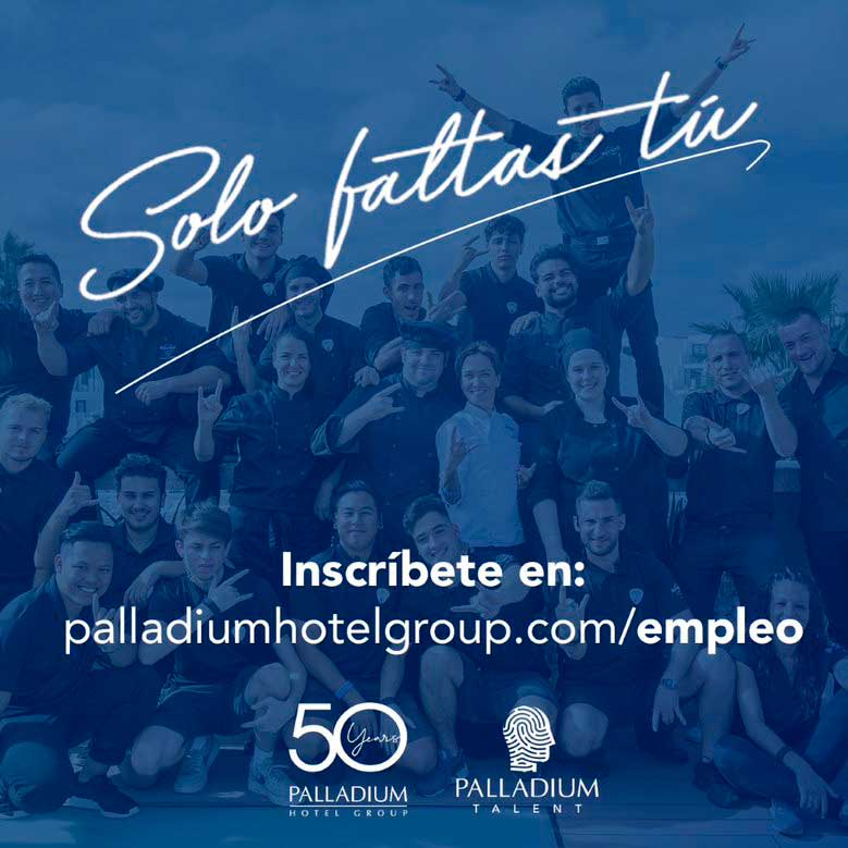 Palladium Hotel Group seeks workers to fill different positions in Ibiza