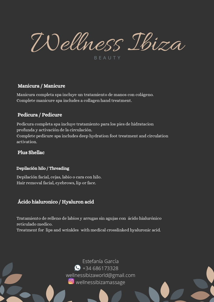 Wellness Ibiza 2020