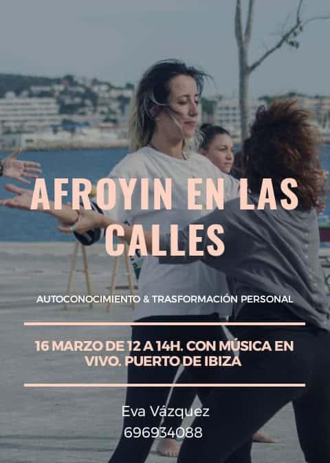 Afroyin en las calles de Ibiza