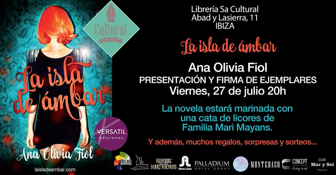 "Ana Olivia Fiol presents ""The island of amber"" in Sa Cultural"