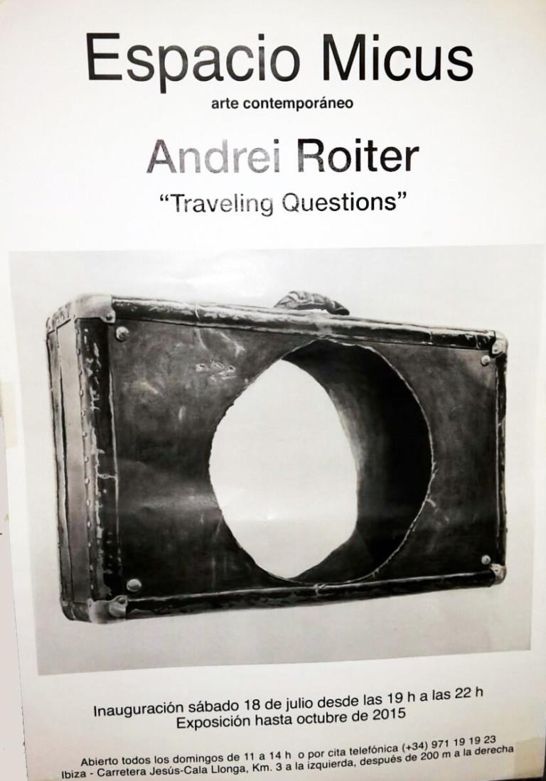 Andrei Roiter stellt im Micus Space seine Travelling Questions aus
