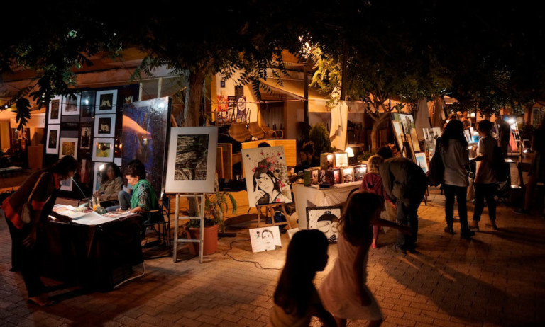 Vollmond der Kunst mit Art Club Ibiza in Santa Gertrudis