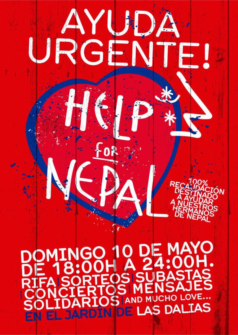Ayuda urgente para Nepal