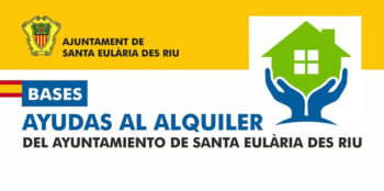 Helps to the Rent of the City council of Santa Eulalia